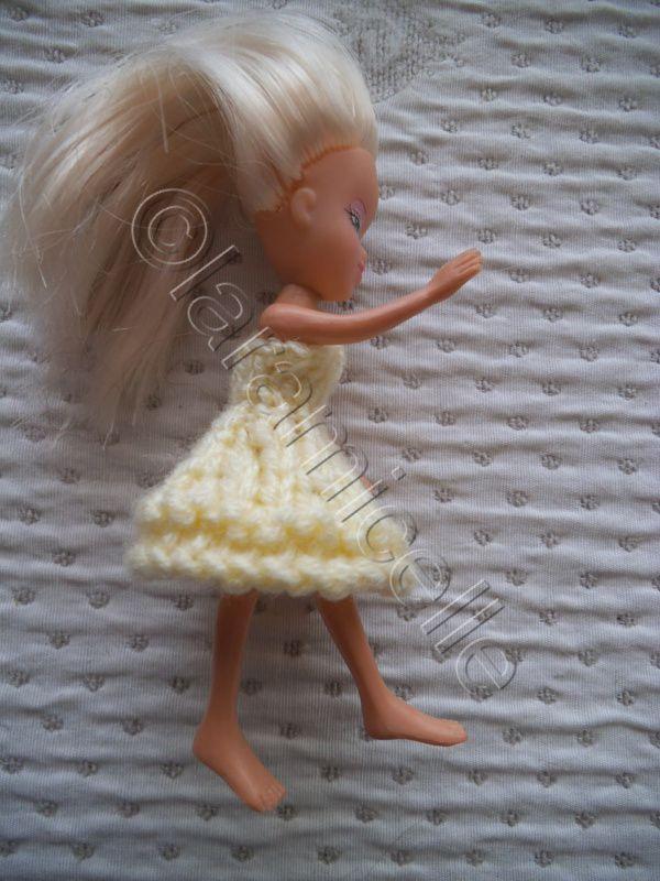 DIY robe pour mimi poupée