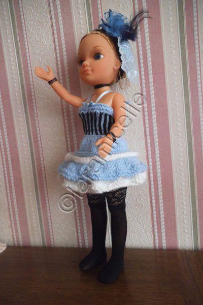 tuto gratuit poupée nancy: bas, jarretière et bottines