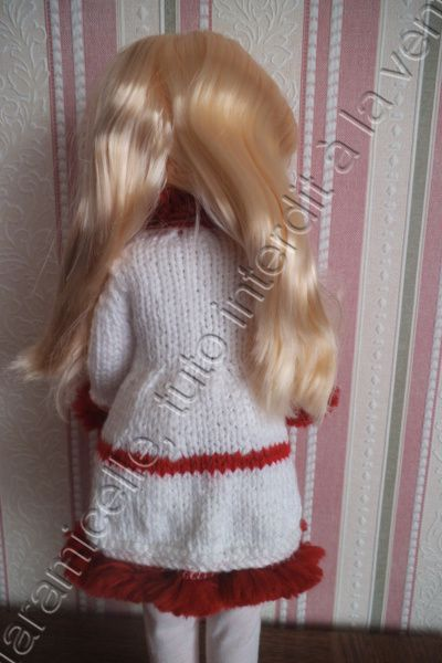 tuto gratuit poupée Nancy: manteau ,manches manchons et brandebourgs
