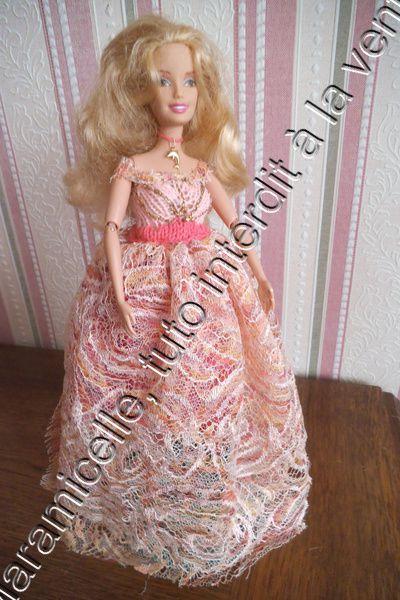 tuto gratuit barbie : princesse Mélodie