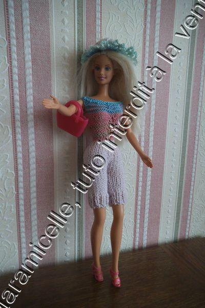 tuto gratuit barbie: chapeau de soleil