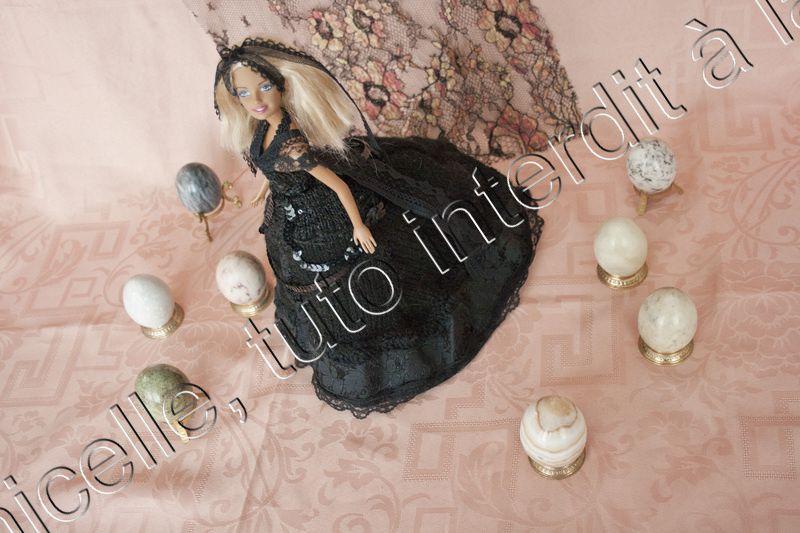 tuto gratuit barbie : la mariée s'habille en noir