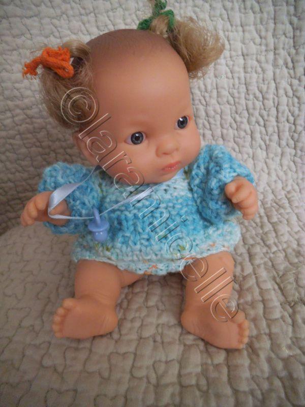 tuto gratuit paola reina: bonnet et bottines pour bébés