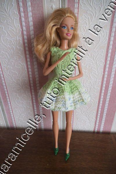tuto gratuit barbie: robe plissé soleil