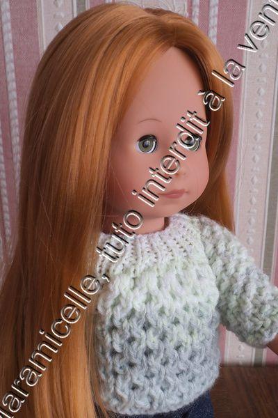 tuto gratuit poupée: pull confortable pour l'hiver