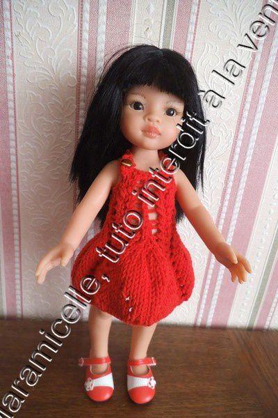 tuto gratuit poupée:  robe pour l'été