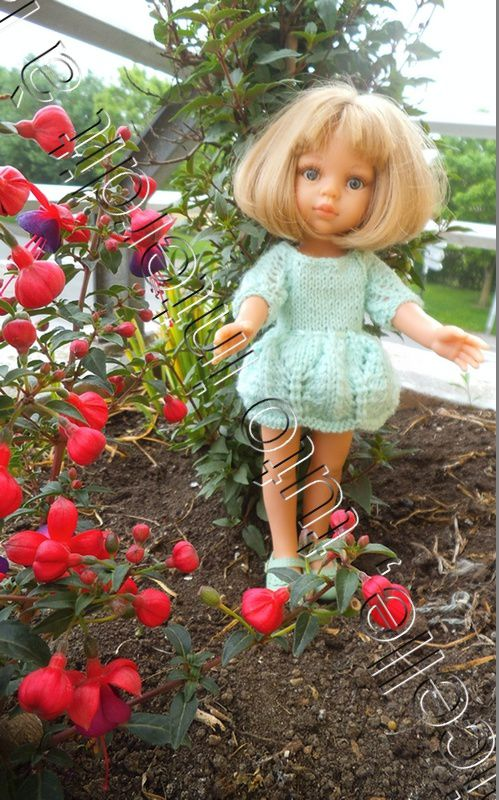 tuto gratuit poupée: robe estivale à manches marteau