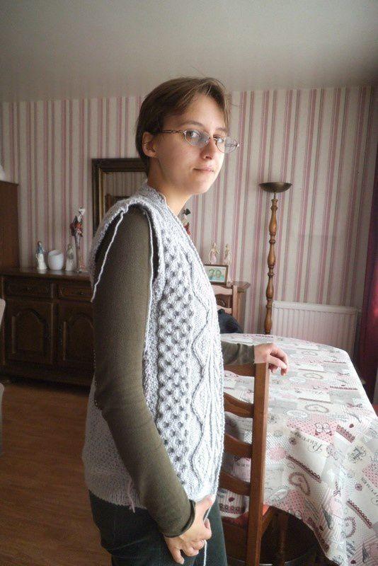 """tricot : mon """"en-cours"""" , essayage"""