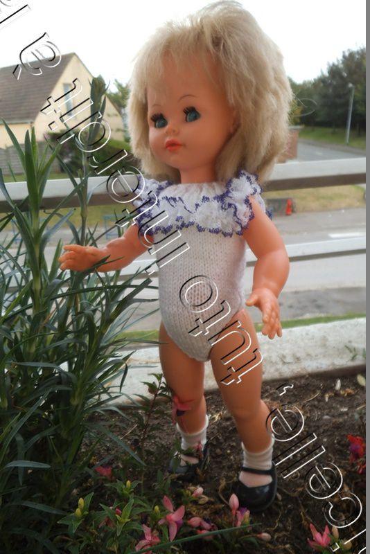 tuto gratuit poupée: body à dentelle