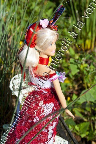 tuto gratuit Barbie : robe longue Caraïbes 2