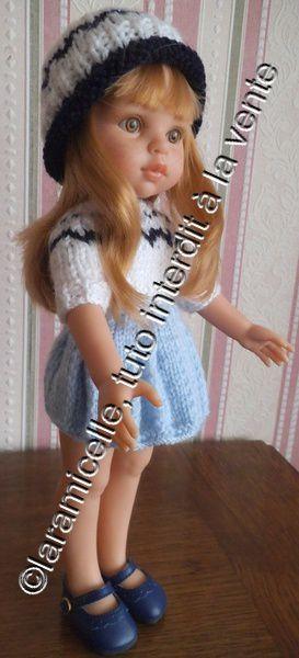 tuto gratuit poupée: bonnet bord roulotté
