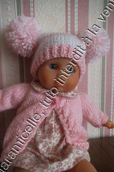 tuto gratuit poupée: bonnet à pompons pour tricoteuses débutantes