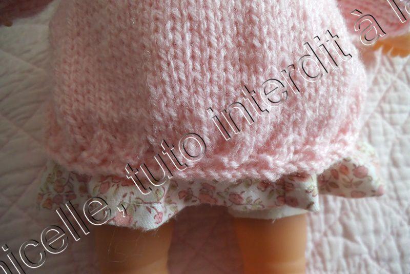 tuto gratuit poupée: longue veste d'hiver