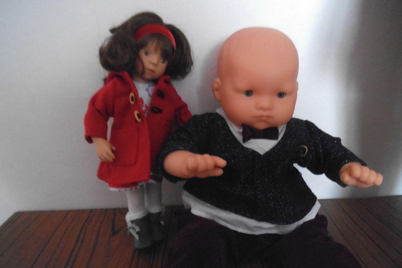 mes nouvelles poupées