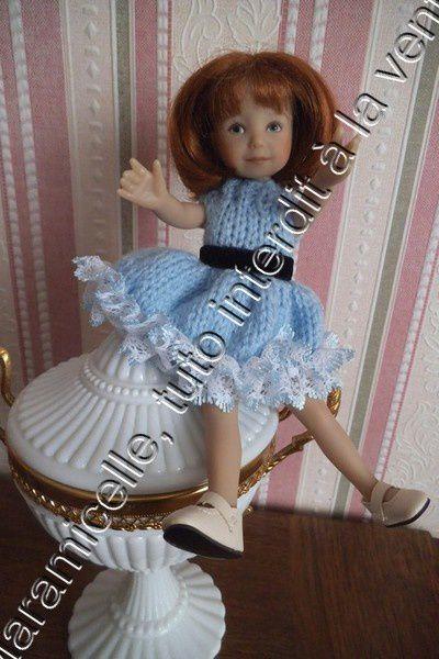 tuto gratuit poupée : robe pour poupée espiègle