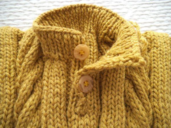 tuto gratuit : tricoter un col polo sans couture