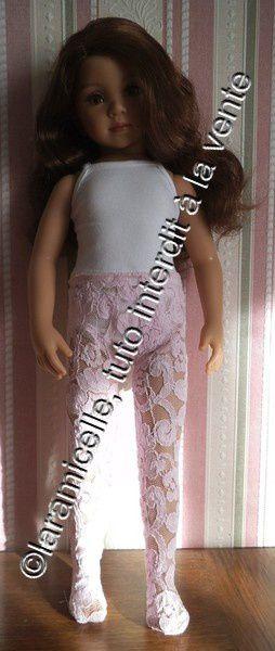 tuto gratuit poupée: collants dentelle