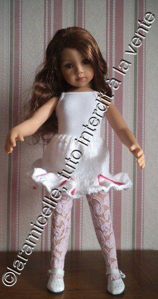 tuto gratuit poupée: jupe à godets