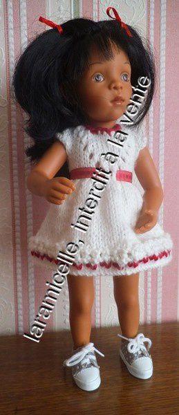 tuto gratuit poupée: robe printanière