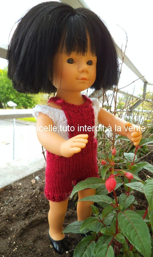 tuto gratuit poupée : petit haut sans couture pour tricoteuses débutantes