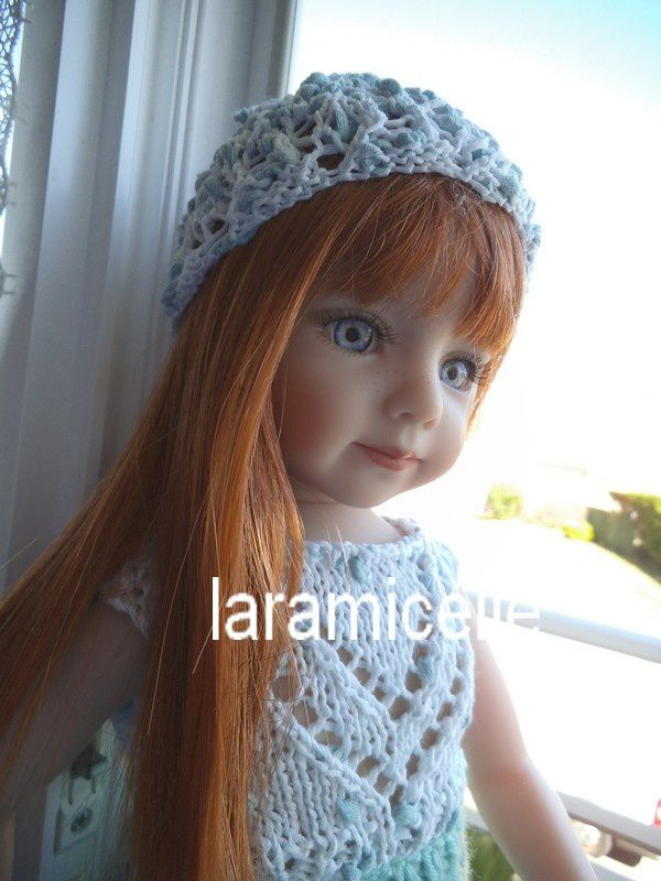 tuto gratuit poupée : petit bonnet de coton