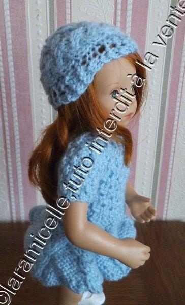 tuto gratuit poupée: petit bonnet à torsades