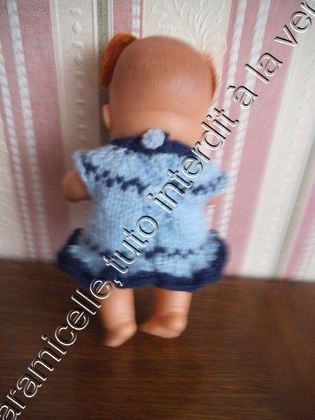 tuto gratuit poupée: robe avec petit volant