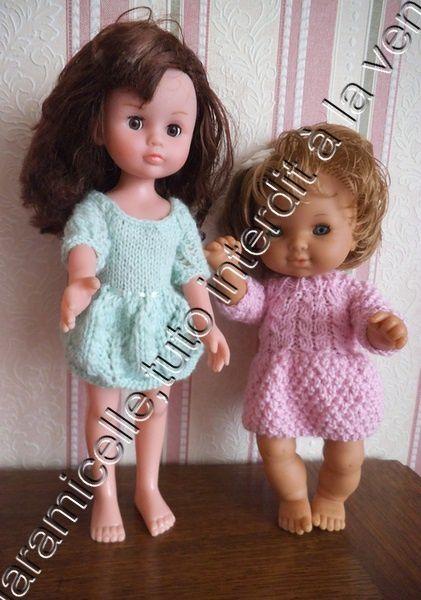 tutos gratuits poupée: 2 robes pour le voyage
