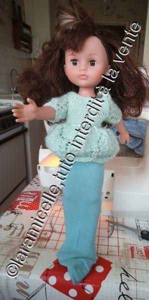 tuto gratuit poupée: couper et coudre des collants quand on ne sait pas coudre