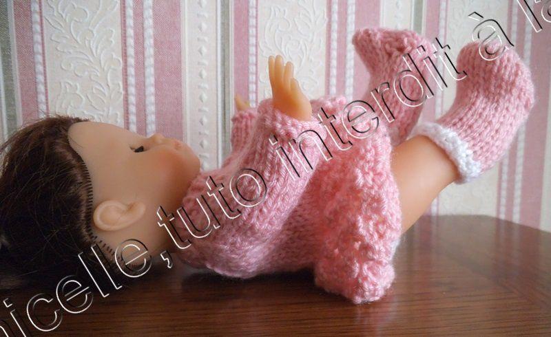 tuto gratuit poupée:  véritables chaussettes