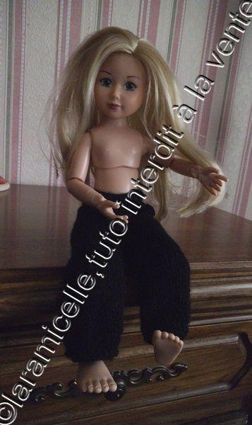 tuto gratuit poupée : pantalon boutonné