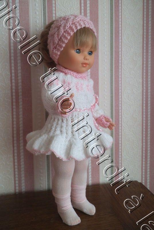 tuto gratuit poupée : bandeau à torsades