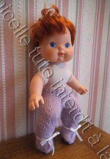 tuto gratuit poupée; pantalon boutonné