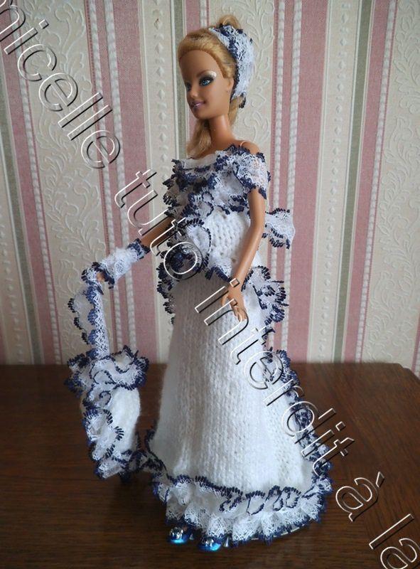 tuto gratuit Barbie : ombrelle