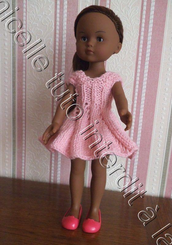 tuto gratuit poupée : robe tourbillon