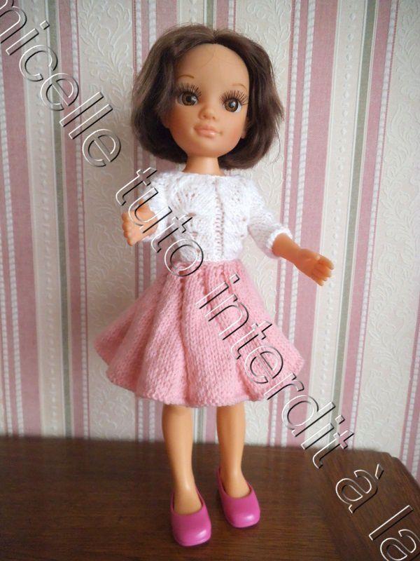 tuto gratuit poupée : jupe tourbillon pour Nancy , défi de Dane
