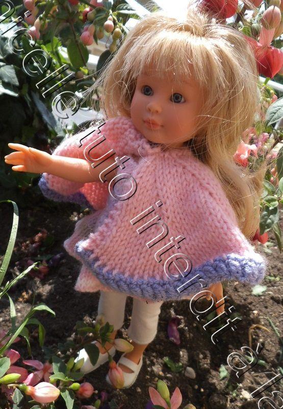 """tuto gratuit poupée: cape  """" Hurlevent """" ; défi de Pipiou"""
