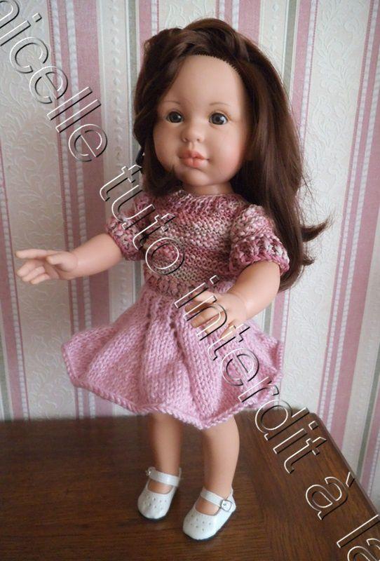 tuto gratuit poupée : jupe tourbillon; défi de Dane