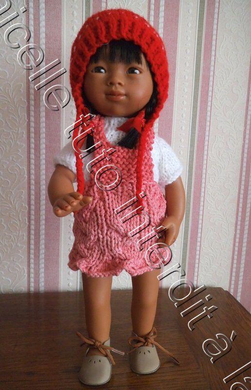 tuto gratuit poupée : bonnet péruvien