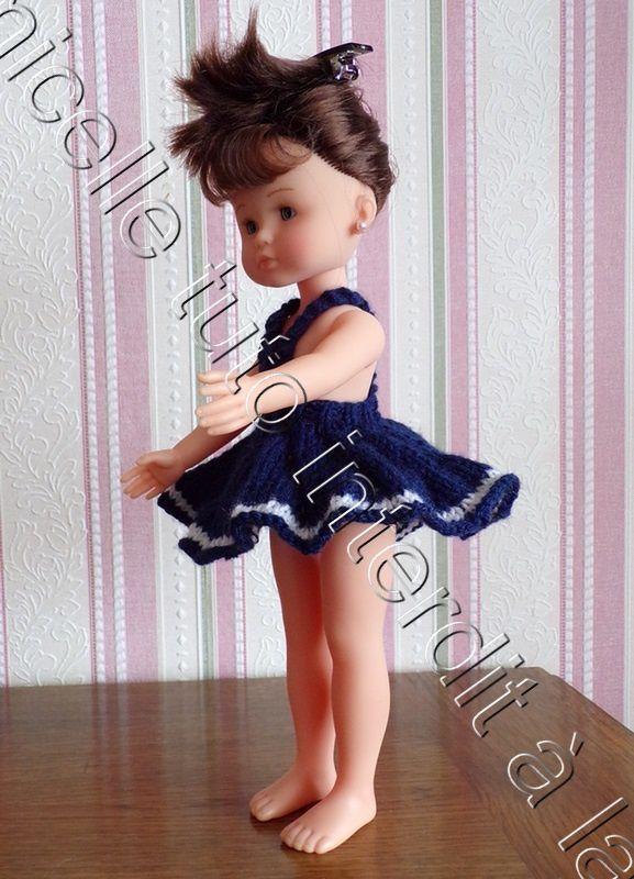 tuto gratuit poupée : jupe tourbillon à bretelles