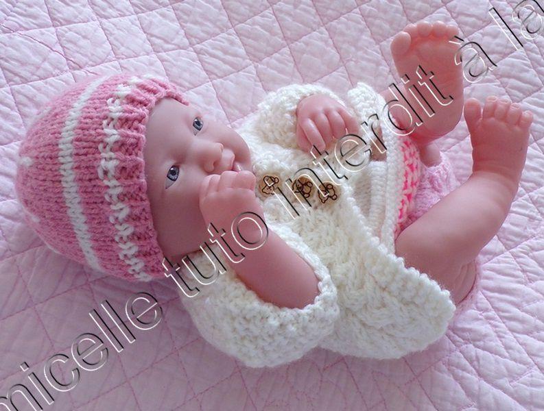 tuto gratuit poupée : bonnet tendresse