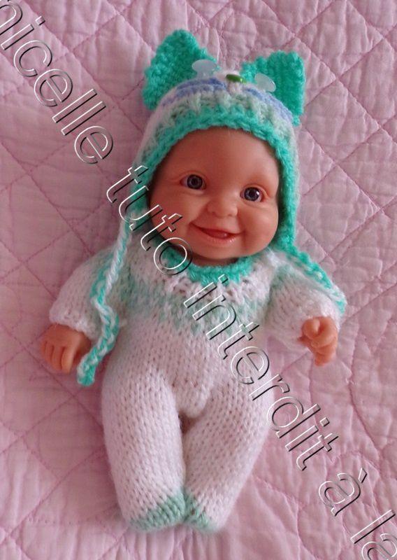 tuto gratuit poupée : bonnet chat