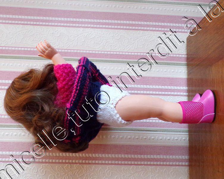 tuto gratuit  poupée  : culotte au petit noeud