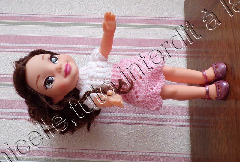 tuto gratuit  poupée  : pull féminin