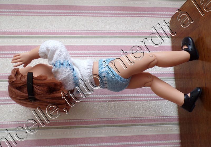 tuto gratuit poupée : petite culotte dessin petits noeuds