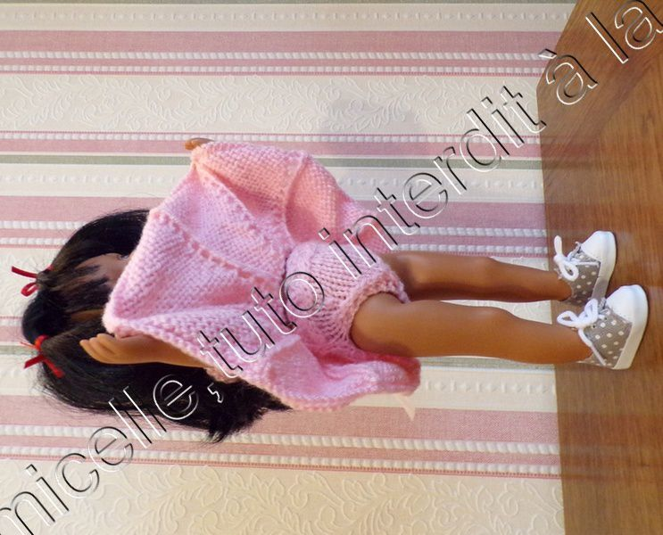 tuto gratuit  poupée  : petite culotte  à la tresse . défi de Dane