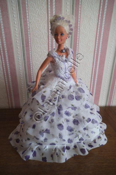 tuto gratuit barbie : tenue princesse Eugénie