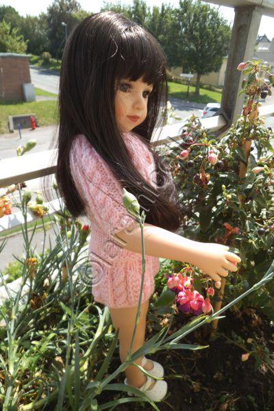 tuto gratuit poupée  : petite jupe pour la rentrée des classes