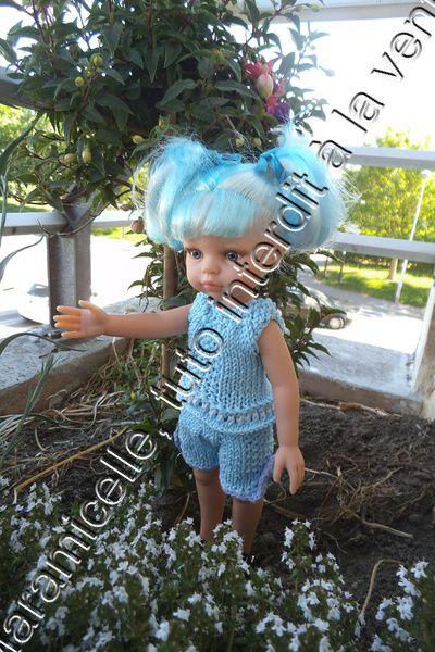 tuto gratuit poupée paola reina/chérie de corolle : tunique d'été