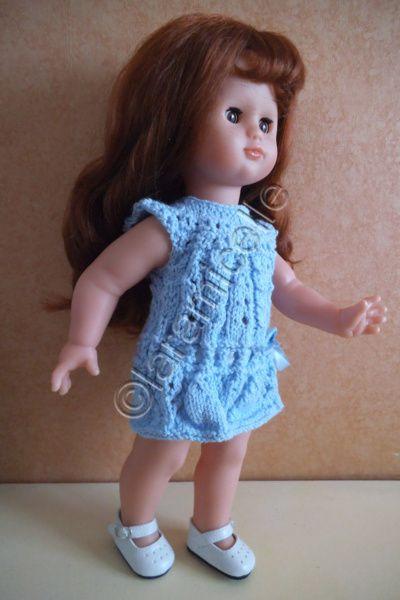 tuto gratuit poupée Petitcollin: robe d'été à troutrous